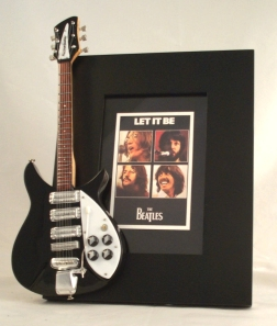 Beatles Let It Be Tribute Guitar Frame