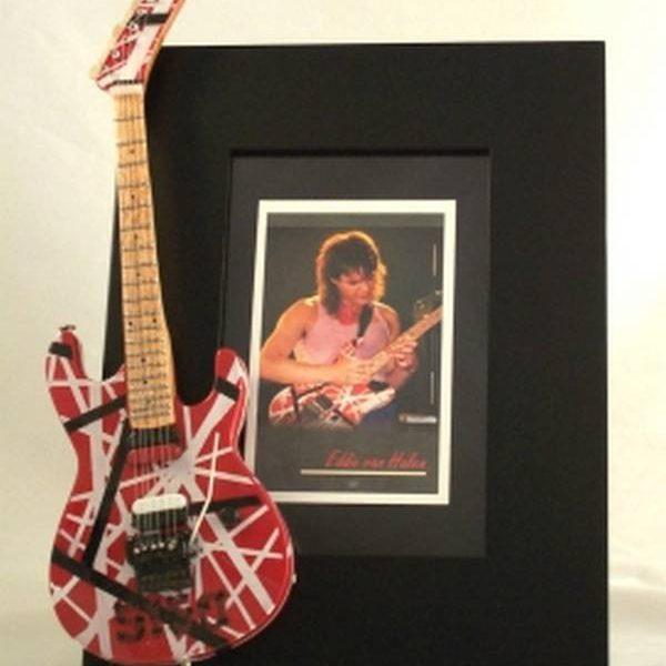 Eddie Van Halen Tribute Guitar Frame