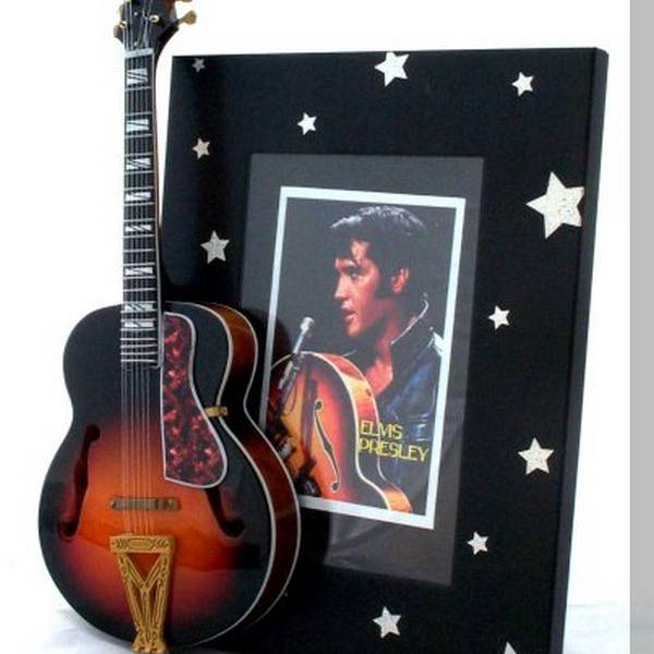 Elvis Tribute Guitar Frame