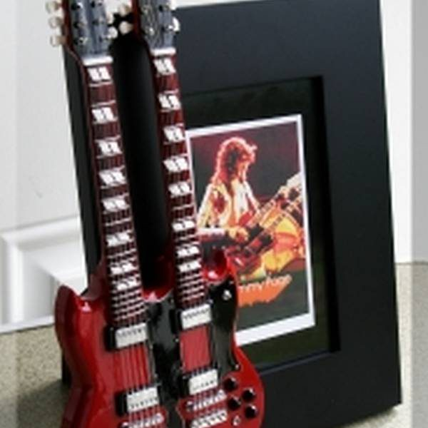 Jimmy Page Tribute Guitar Frame