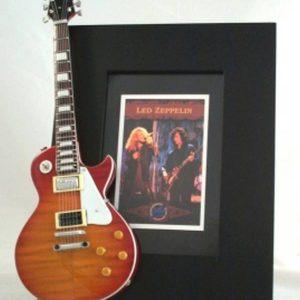 Led Zeppelin Tribute Guitar Frame