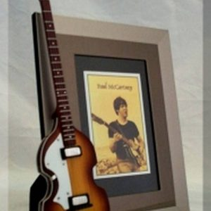 Paul McCartney Tribute Guitar Frame